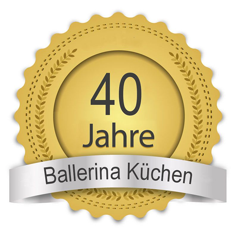 Über 40 Jahre Ballerina Ihr Küchenfachhändler aus